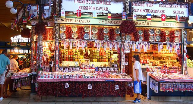 Központi Vásárcsarnok (Great Market Hall). Budapest. Hungary