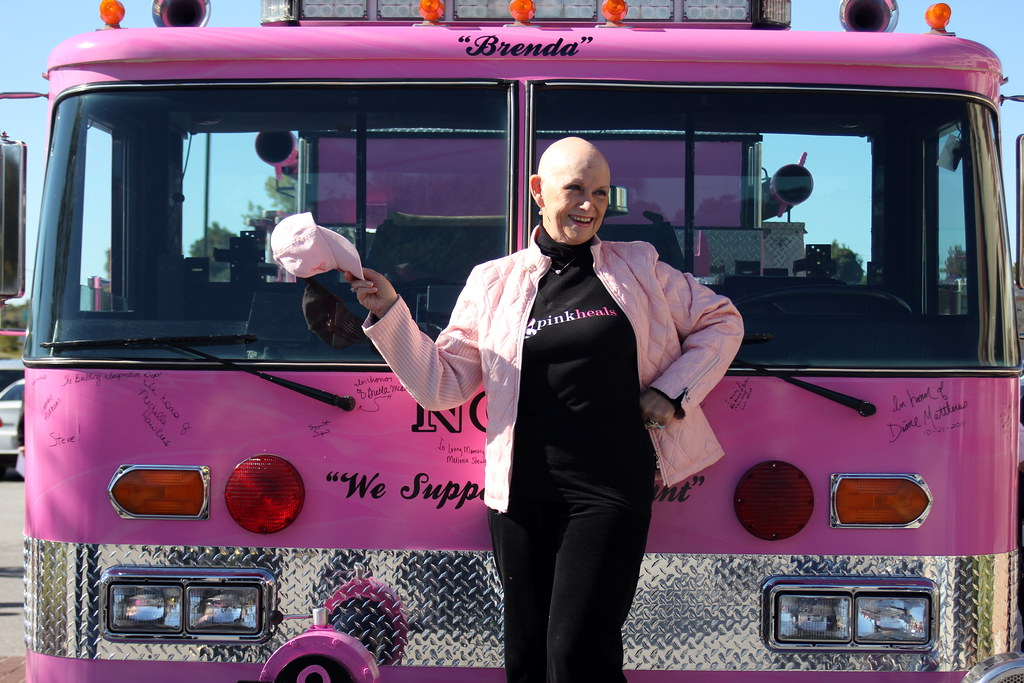 North Charleston unveils Pink Fire Truck
