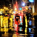 boston chinatown street rain by photographynatalia