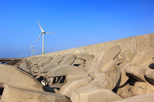 7O90彰濱工業區-風力發電-防波堤
