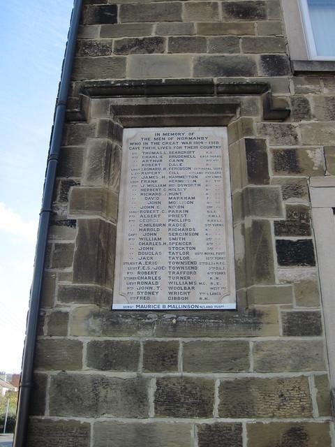War Memorial, Normanby