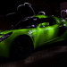 Green Exige at Night by MiniDiva