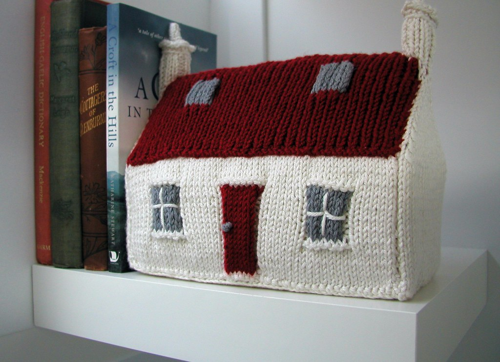 The Red Roof Croft House Bookend