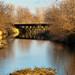 Small photo of Bridge over Mill Race at Main Amana, Iowa