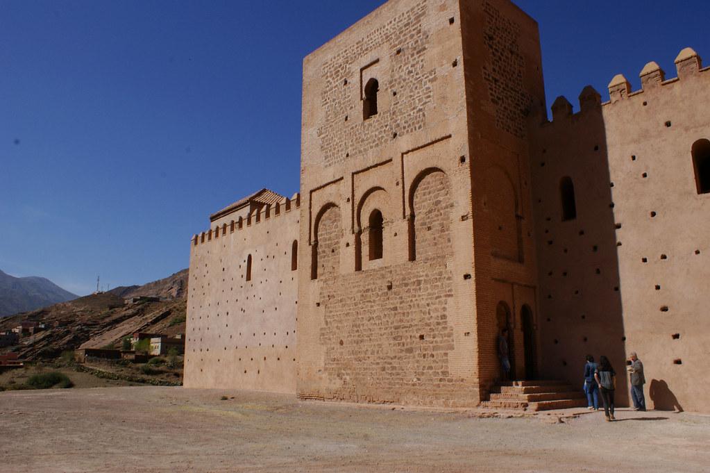 Exterior de la Mezquita de Tinmel