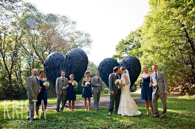 Wedding at the DeCordova Museum & Sculpture Park