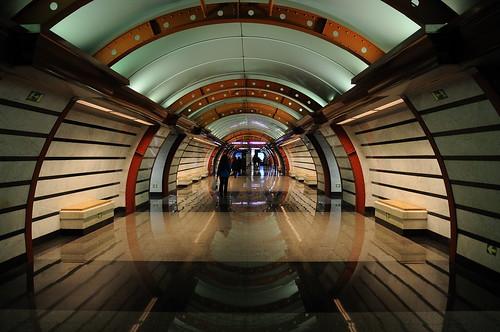 Metro station Nabrezhnaya obvodnogo kanala