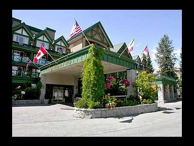 Hotel Whistler Pinnacle (Colombie-Britanique, Canada)