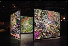 <strong>AZIZ + CUCHER - </strong> Synaptic Bliss: Villette<br />Aziz + Cucher, Synaptic Bliss: Villette, 4-channel video installation with surround sound, 16' loop, dimensions variable, 2004