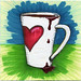 I drew you a tall mug of love & coffee