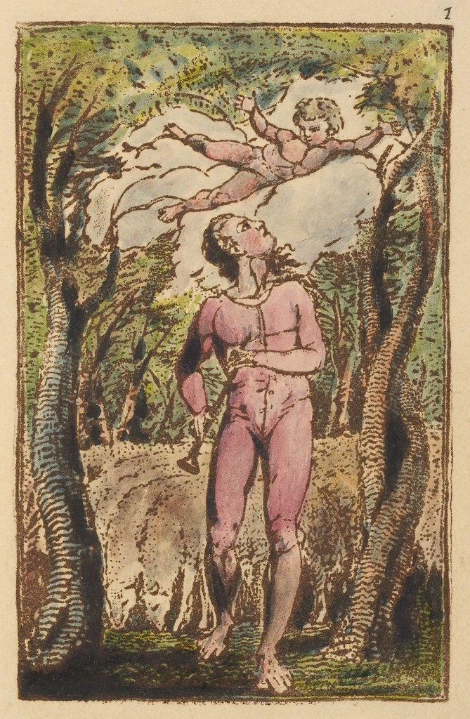 Songs of innocence (frontispiece)