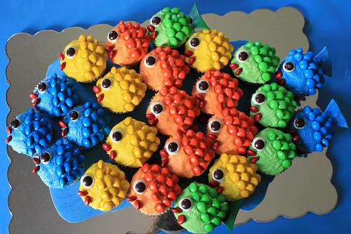 Rainbow-Fish-Cupcakes