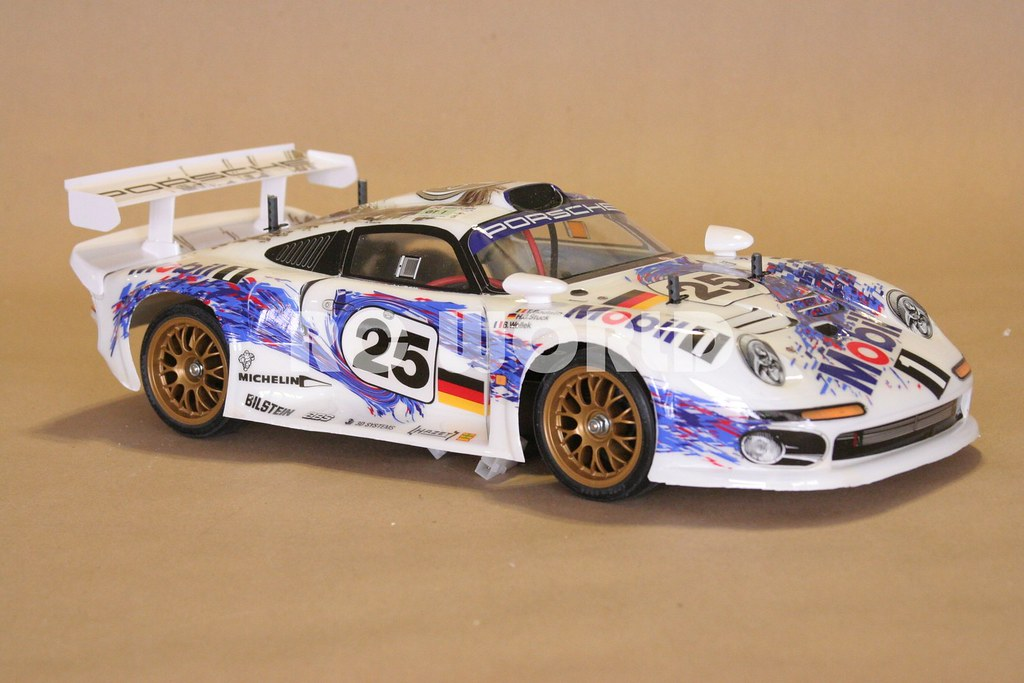 tamiya rc 1 10 porsche 911 gt1 ta03r s a photo on flickriver. Black Bedroom Furniture Sets. Home Design Ideas