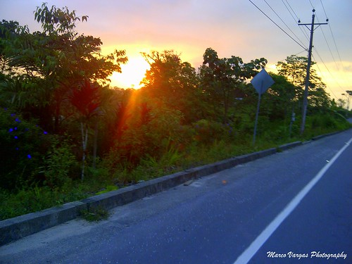 landscape ecuador roads