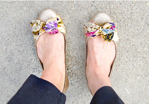 DIY Anthropologie Shoes