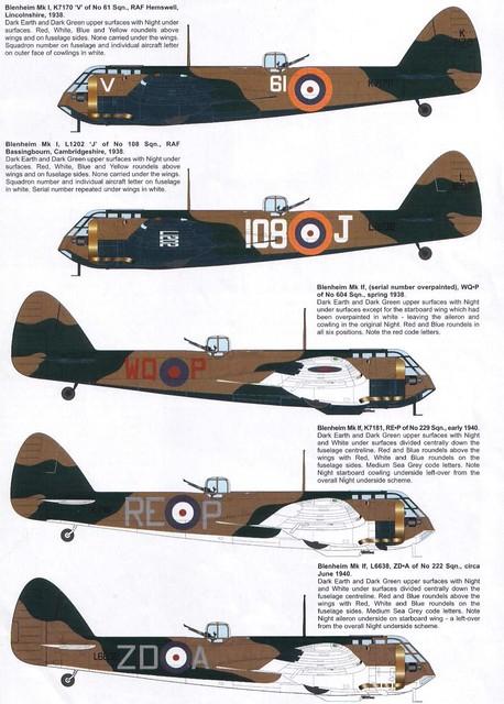 Bristol 142M Blenheim RAF variants