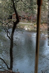 view of the clackamas river from a house for sale   …