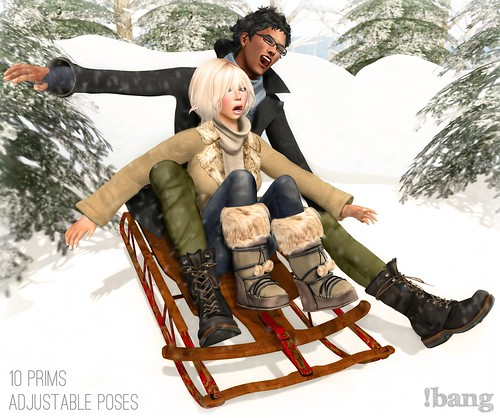!bang - sledding - couple