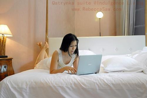Qatrynka suite - Rebecca saw