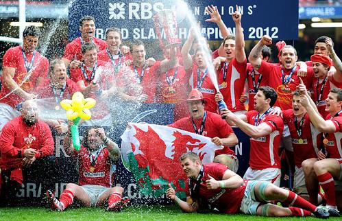 Il Galles festeggia