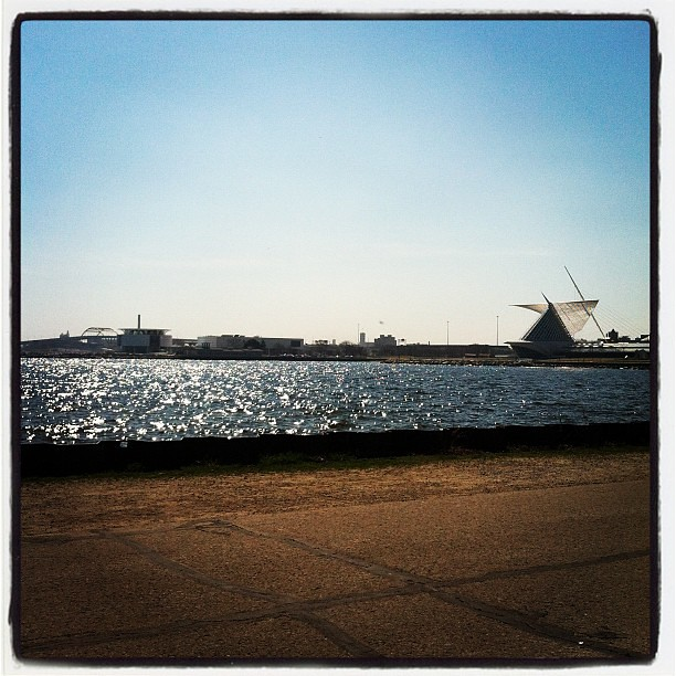 Its a beautiful day in Milwaukee! :)