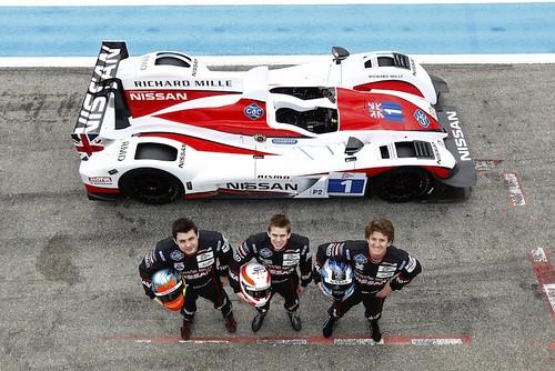 Nissan European Le Mans Series-Lucas Ordoñez (dcha)