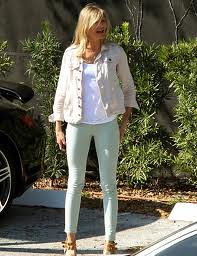 Cameron Diaz Mint Jeans Celebrity Style Women's Fashion