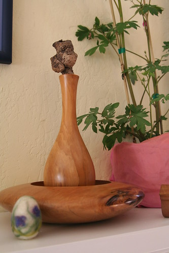 Easter Nature Table (Mantel)