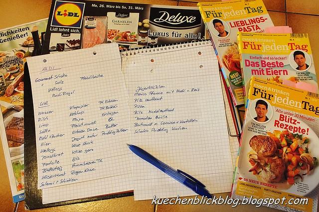 Küchenplan