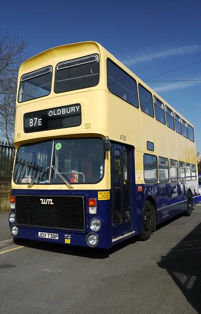 West Midlands PTE, Volvo Ailsa, JOV 738P