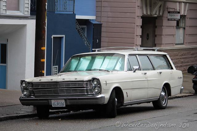 1966 Ford country sedan station wagon