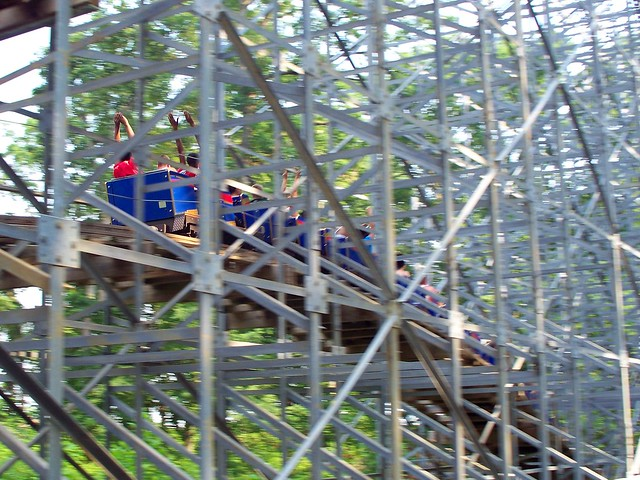 Holiday World - The Voyage Airtime Hill
