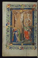 Missal of Eberhard von Greiffenklau, Crucifixion, Walters Manuscript W.174, fol. 152v