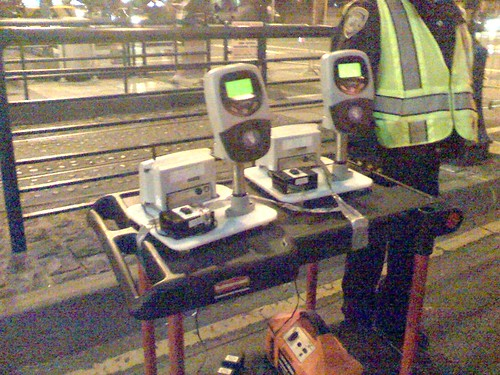 Clipper Card Readers at the Ballpark