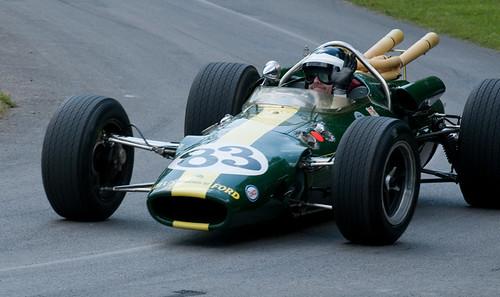Dario Franchitti - Lotus 38 - Festival of Speed