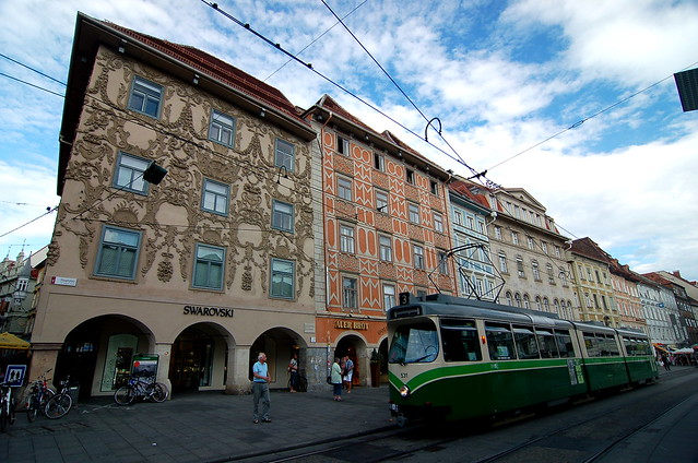Luegghaus, Herrengasse, Graz 格拉茨 海倫街 艾格房屋