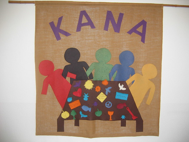 Kana Kitchen wall hanging