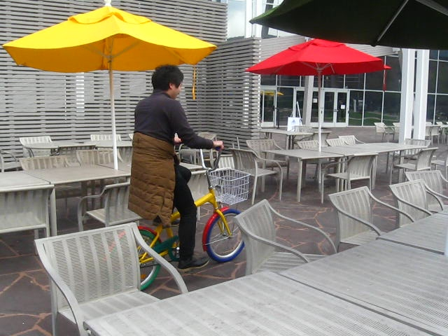 satzz on google bike
