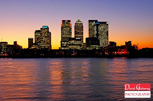 London Purple Sky
