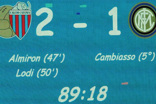 Catania-Inter, quante scoppole 'clamorose'...$