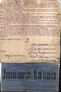 "Boxing ""Articles of Agreement"", Veracruz, 27 August 1914"