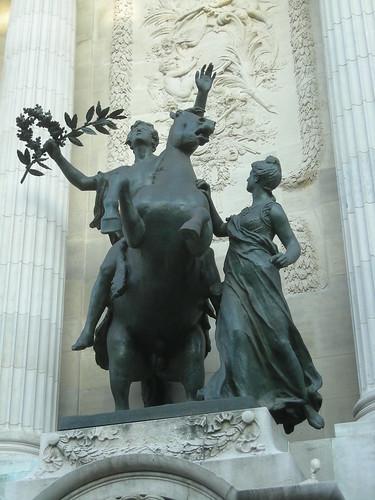 « L'inspiration guidée par la sagesse » par Alexandre Falguière