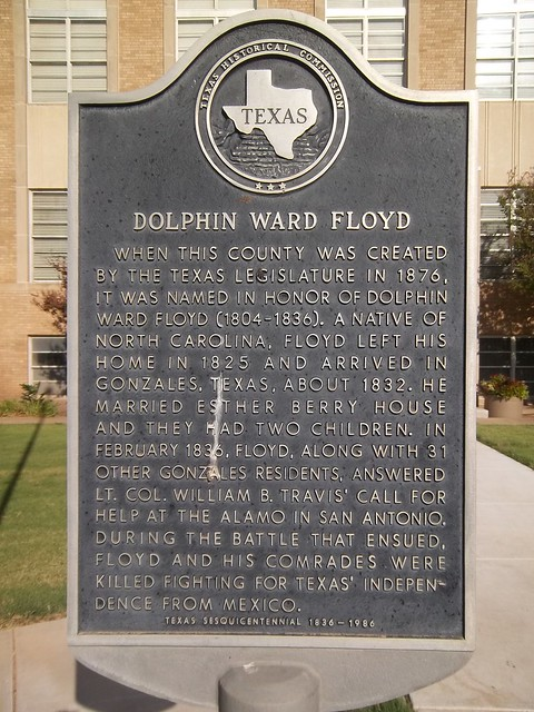 Photo of Dolphin Ward Floyd black plaque