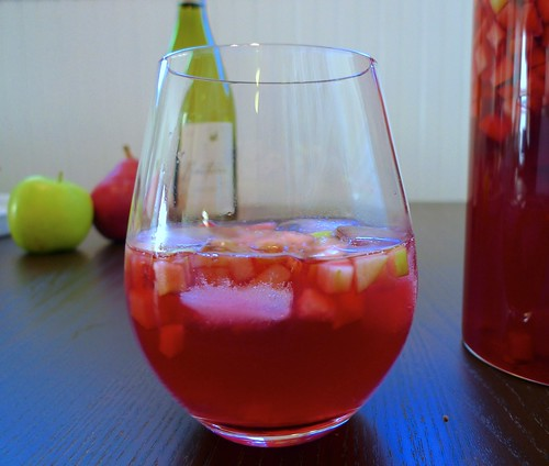 Hibiscus and Ginger Sangría