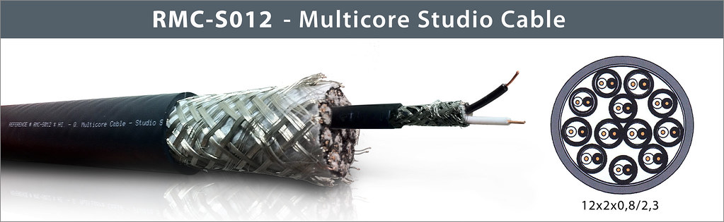 Reference Laboratory RMC-S012 - Multicore Studio Cable