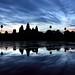 Angkor Wat Blue Sunrise by Rob Kroenert