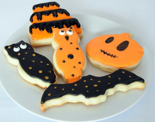 Halloween Decorated Cookies