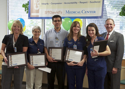 St. David's Medical Center October ICARE Awards