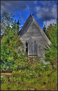 The Church in the woods,Diligent River,Nova Scotia.