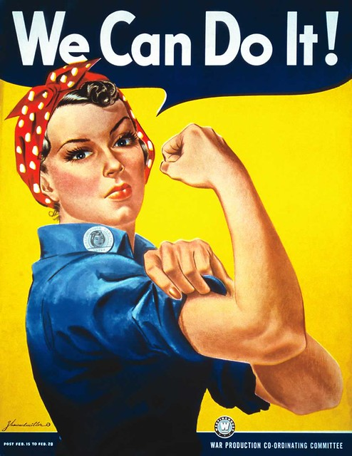 Rosie-the-Riveter from Flickr via Wylio